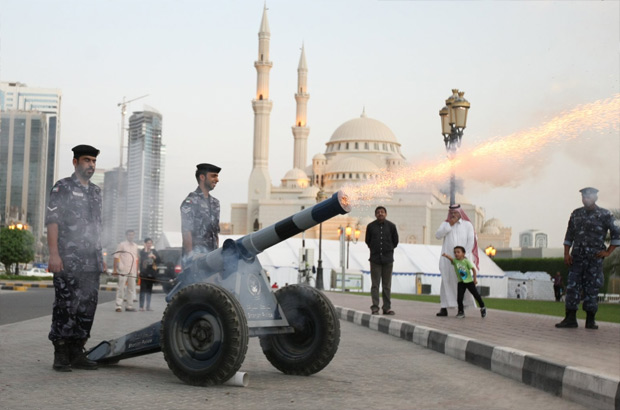 sharjah-uae-ramadan-cannon