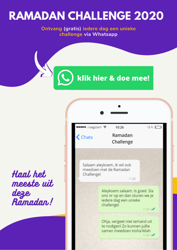Ramadan Challenge 2020 Vraagislam