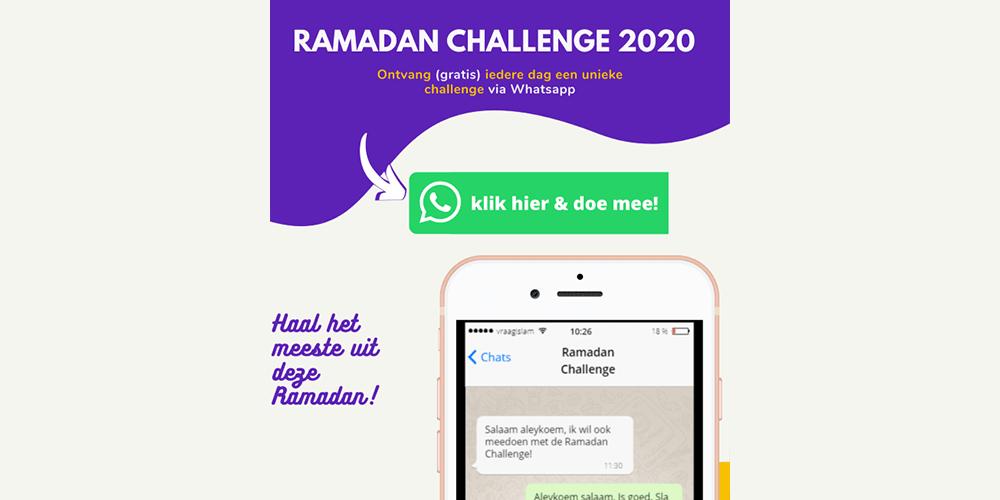 Ramadan Challenge vraagislam slider