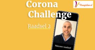 Corona Challenge Dag 2 - broeder Joram van Klaveren